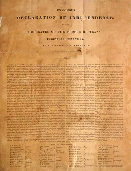 the declaration of independence signing. the signing of