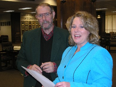 Vicki Holloway and Bill Ogden