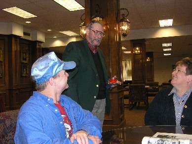 Mark Chapman, Bill Ogden, and Twila Scroggins