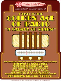 The Golden Age of Radio at Elmira Little Theatre