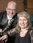 Timothy Perry, clarinet and Pej Reitz, piano Sunday afternoon at Binghamton's Phelps Mansion
