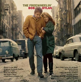 A rare version of Dylan's <i>The Freewheelin' Bob Dylan</i> recently sold for more than $20,000.