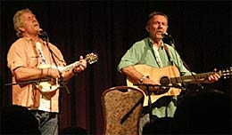 Concert Review by Joe Janci: Chris Hillman and Herb Pedersen on Wed., July 22, 2009<br />