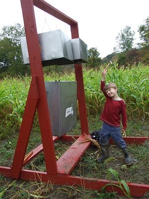 Ithaca Sound Maze, now through November 1st at Steep Hollow Farm