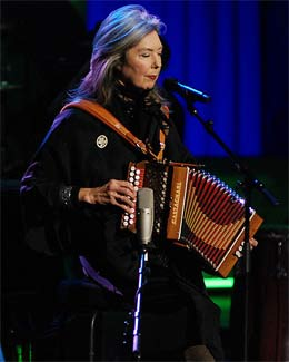 Kate McGarrigle - died of cancer at the age of 63