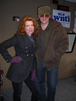 Thursday March 11, 2010-- Peter Karp & Sue Foley with Mel in the Morning