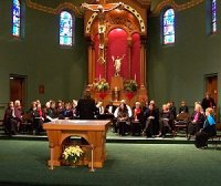The Madrigal Choir of Binghamton and the Binghamton Community Orchestra present