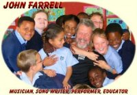 The Oneonta Theatre presents a Family Matinee Concert with songwriter John Farrell
