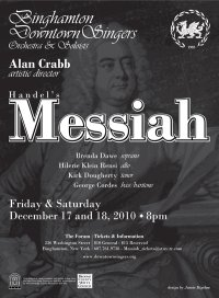 The Downtown Singers perform Handel's <i>Messiah</i>