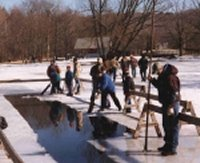 The Hanford Mills Museum presents its annual Ice Harvest