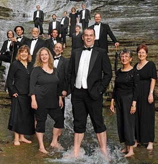 'Bass-ically Treble-making' with Cayuga Vocal Ensemble, Sunday in Ithaca