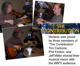 Live music hits the WNTI airwaves once again the morning of February 16, 2012!