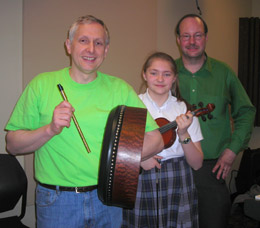 Lagan's Love plays traditional Irish tunes on WNTI