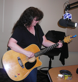 Friday March 23, 2012 - Mef Gannon in the studio with Mel
