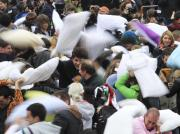 Ploompf!! Pillow Fights Erupt Across The Globe