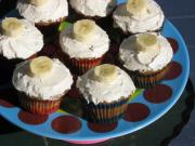 Banana Cupcakes With Honey-Cinnamon Frosting
