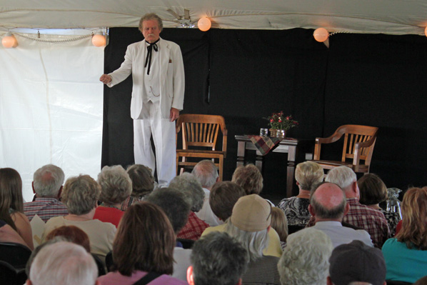 Mark Twain in Nebraska - thanks to Chautauqua