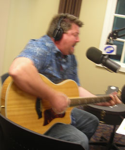 Friday morning August 3, 2012 Mel in the Morning was joined by Cardon Raquet