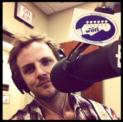 Singer-songwriter Charlie Mars live on WNTI with Spider Glenn