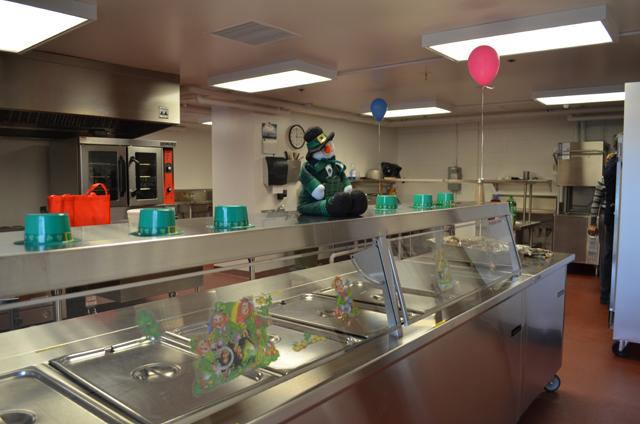 School Cafeteria Kitchen ~ Wvmr grand opening held for hillsboro elementary school